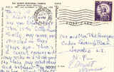 Vintage postcard back All Saints Episcopal Church - Rehoboth Beach,Delaware