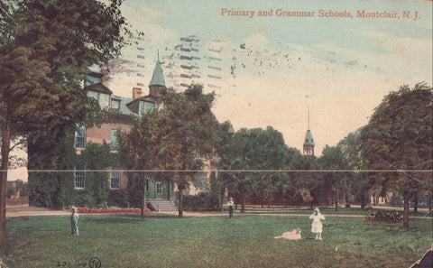 Primary and Grammar Schools-Montclair,New Jersey 1911 - Cakcollectibles - 1
