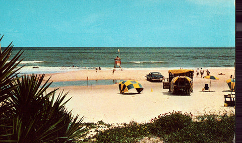 Vintage Postcard Front - View of Ormond Beach,Florida