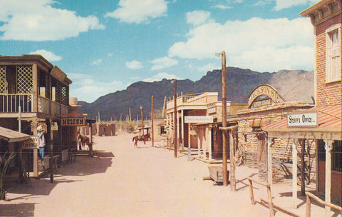 "Main Street-""Old Tucson,Arizona"" - Cakcollectibles - 1"