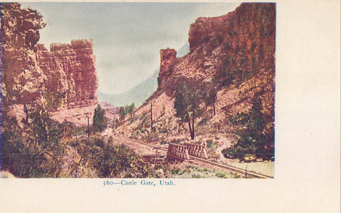 Castle Gate-Utah UDB - Cakcollectibles - 1