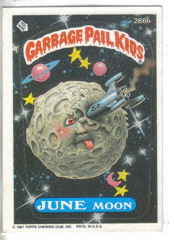 Garbage Pail Kids 1987 #286b June Moon Garbage Pail Kids