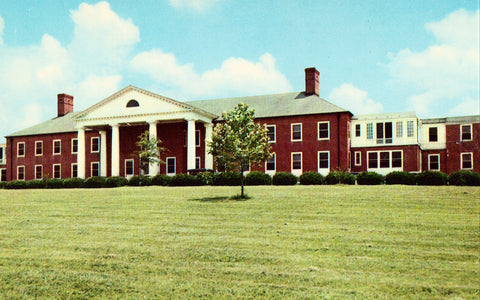 Vintage postcard front. North Mississippi Community Hospital - Tupelo,Mississippi
