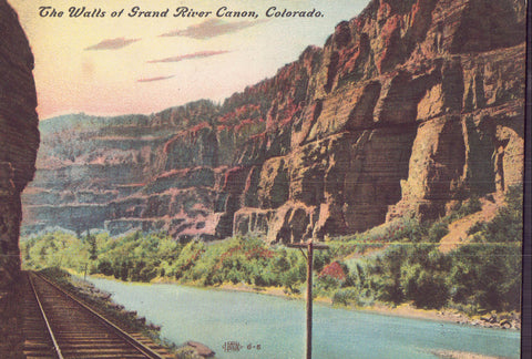 The Walls of Grand River Canon-Colorado - Cakcollectibles - 1