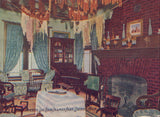Interior View of Log Cabin,Palmer Park-Detroit,Michigan - Cakcollectibles - 1