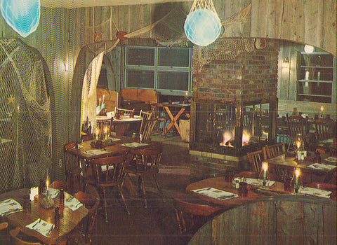 Interior View of The Lobster Shanty-Point Pleasant Beach,New Jersey - Cakcollectibles - 1