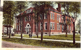 Vintage postcard front - Union School - Navarre,Ohio