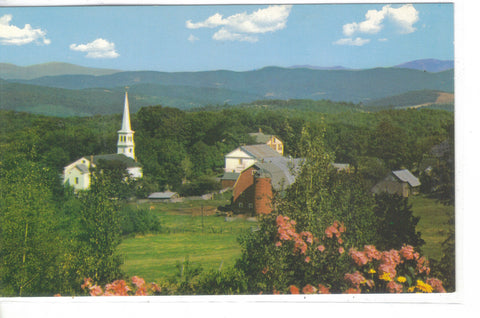 Village Of Peacham - Vermont - Cakcollectibles
