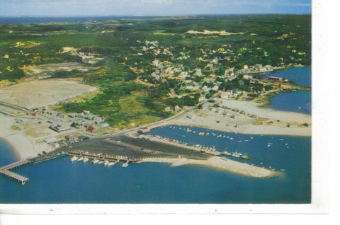 Air View Of Wellfleet Harbor On Cape Cod - Cakcollectibles