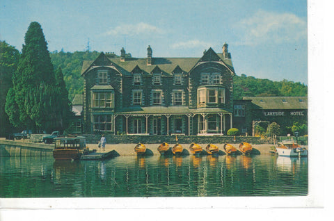 The Lakeside Hotel, Newby Bridge, From Lake Windermere - Cakcollectibles