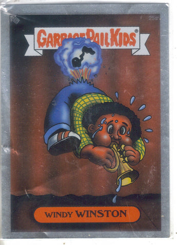 Garbage Pail Kids 2003-Silver #25a Windy Winston