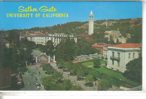 Sather Gate, University Of California - California - Cakcollectibles
