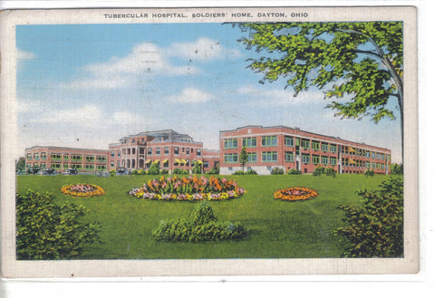 Tubercular Hospital,Soldiers' Home-Dayton,Ohio 1950 - Cakcollectibles - 1