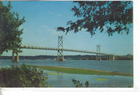 Bettendorf, Moline Bridge - Iowa - Cakcollectibles