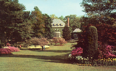 Vintage postcard Sherwood Gardens - Baltimore,Maryland