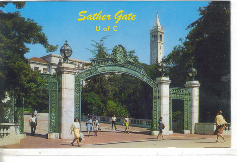 Sather Gate, University Of California - Cakcollectibles