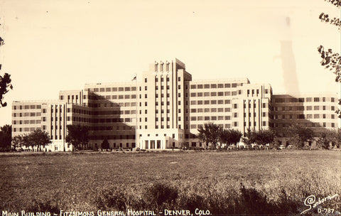 RPPC - Main Building,Fitzsimons General Hospital - Denver,Colorado