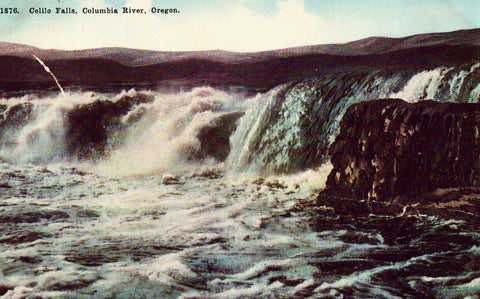 Celilo Falls - Columbia River,Oregon