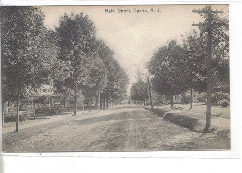 Main Street-Sparta,New Jersey - Cakcollectibles - 1