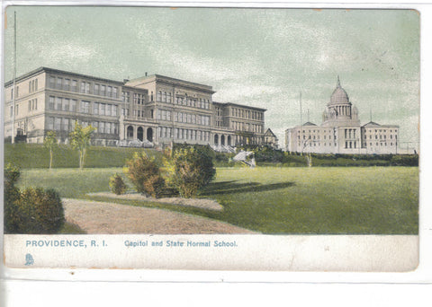Capitol and State Normal School-Providence,Rhode Island Tuck's - Cakcollectibles - 1