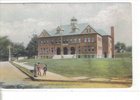 Ballston High School-Ballston Spa,New York - Cakcollectibles - 1