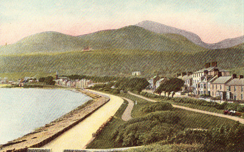 Vintage postcard Newcastle Co. Down