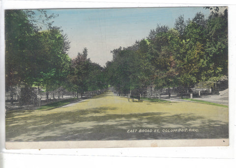 East Broad Street-Columbus,Ohio 1910 - Cakcollectibles - 1