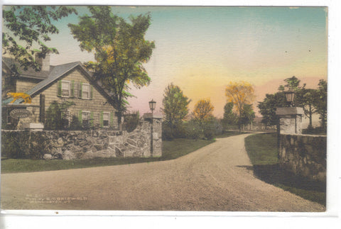The Tavern Entrance-Bennington,Vermont (Hand Colored) - Cakcollectibles - 1