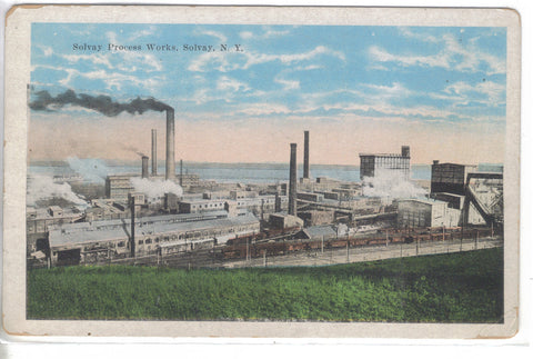 Solvay Process Works-Solvay,New York - Cakcollectibles - 1
