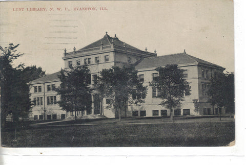 Lunt Library,N.W.U.-Evanston,Illinois - Cakcollectibles - 1
