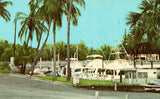 Vintage postcard A Picturesque Marina in Tropical Stuart,Florida
