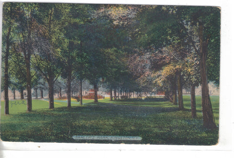 Sahler's Park-Kingston,New York 1913 - Cakcollectibles - 1