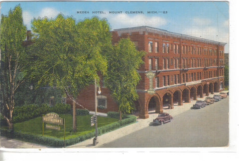 Medea Hotel-Mount Clemens,Michigan 1946 - Cakcollectibles - 1