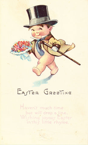 Early Easter Postcard - Easter Greeting