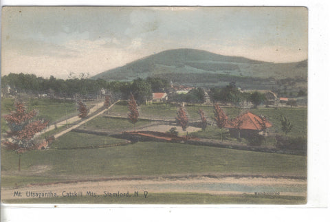 Mt. Utsayantha,Catskill Mts.-Stamford,New York - Cakcollectibles - 1