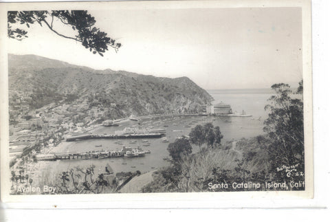 RPPC-View of Santa Catalina Island-California - Cakcollectibles - 1