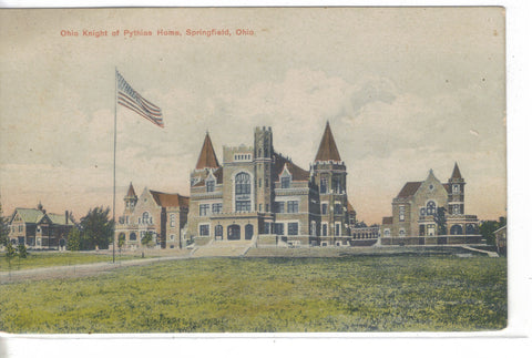 Ohio Knight of Pythias Home-Springfield,Ohio - Cakcollectibles - 1