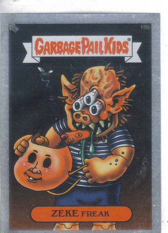 Garbage Pail Kids 2003-Silver #15b Zeke Freak Garbage Pail Kids