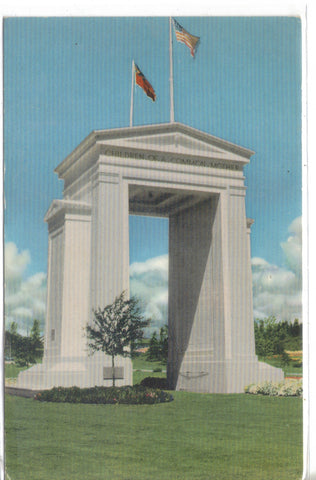 Peace Arch - Blaine, Washington - Cakcollectibles