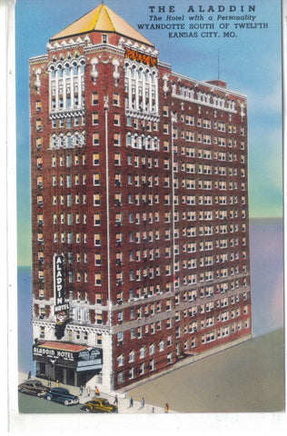 The Aladdin Hotel- Kansas City, Missouri - Cakcollectibles