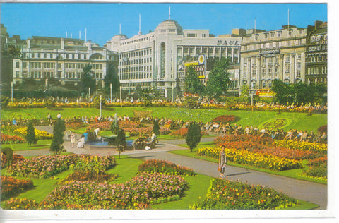 Piccadily Gardens, Manchester - Cakcollectibles