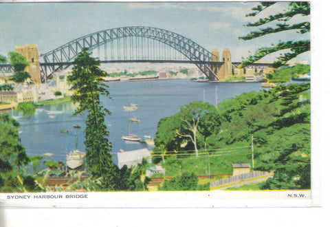 Sydney Harbour Bridge-N.S.W. - Cakcollectibles
