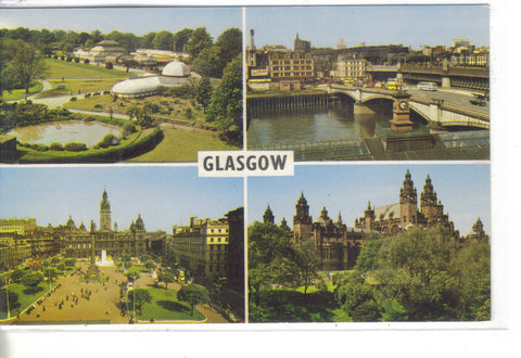Multi View Post Card-Glasgow,Scotland - Cakcollectibles