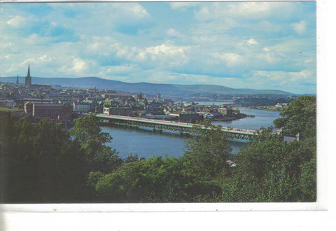 The City Of Londonderry, On The River Foyle - Northland Ireland - Cakcollectibles