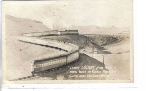RPPC-Southern Pacific's Daylight (Los Angles to San Francisco) #4 - Cakcollectibles - 1