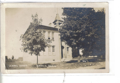 RPPC-School House-Sumner,Michigan 1909 - Cakcollectibles - 1