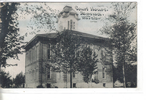 Court House-Alpena,Michigan 1910 - Cakcollectibles - 1