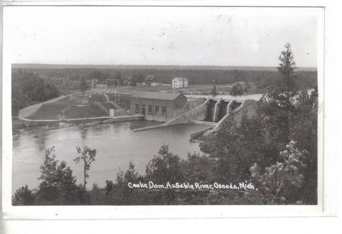 RPPC-Cooke Dam,AuSable River-Oscoda,Michigan - Cakcollectibles - 1