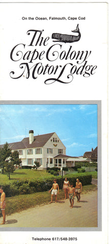 The Cape Colony Motor Lodge Brochure Brochure - 1