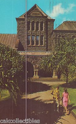 Bishop Museum-Honolulu,Hawaii 1972 - Cakcollectibles